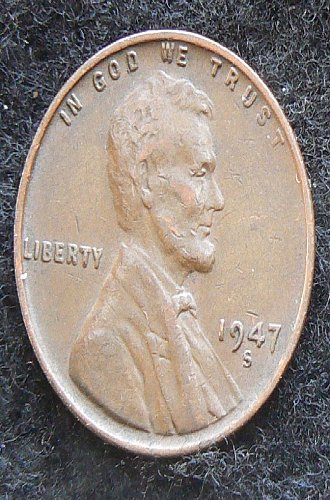 1947 S Lincoln Wheat Cent (VF-35)