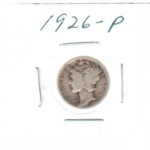 1942 P Mercury Dime - Circulated Coin