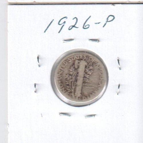 1942 P Mercury Dime - Circulated Coin
