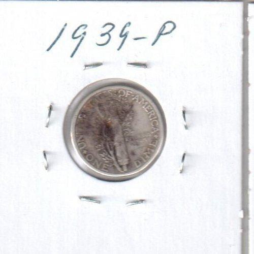 1939 P Mercury Dime - Circulated Coin