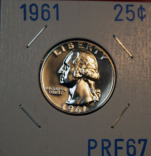 1961 Proof Washington Quarter