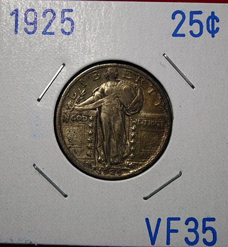 1925 P STANDING LIBERTY QUARTER   ****VERY FINE +****