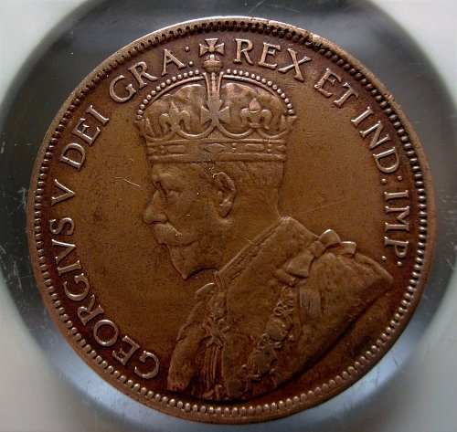 1916 CANADA LARGE ONE CENT NICE GRADE
