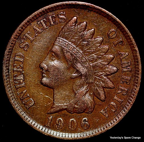 1906-P Nice Grade Indian Head Cent!!