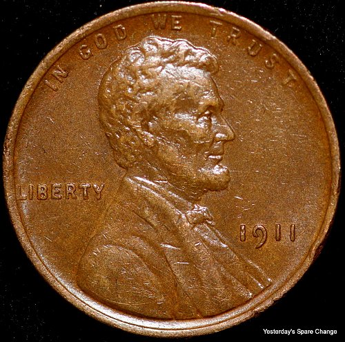 1911-P Nice Grade Lincoln Wheat Cent!!