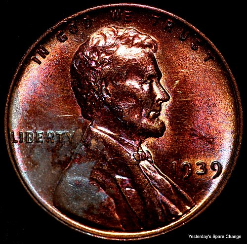 1939-P Nice High Grade Lincoln Wheat Cent!!