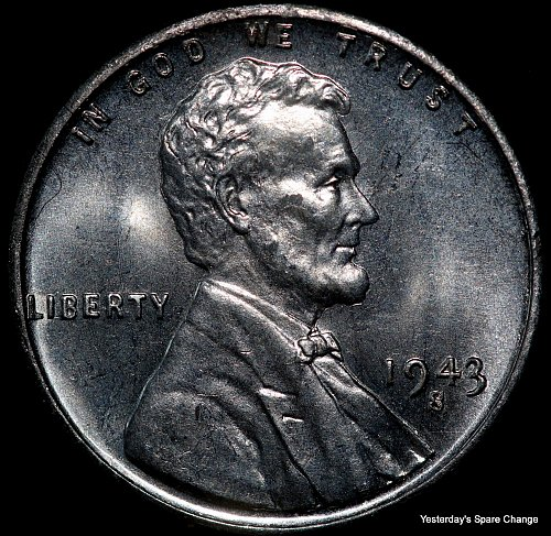 "1943-S Nice High Grade ""War-time"" Steel Lincoln Wheat Cent!!"