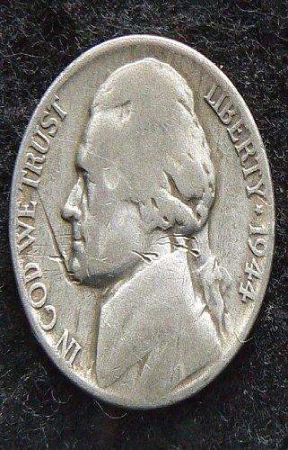 1944 P Jefferson Nickel (VG-8)