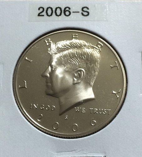 2006-S Kennedy half dollar clad proof