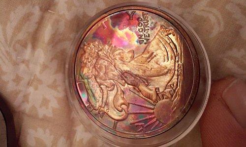 2013 - .999 copper eagle