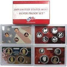 2009 S  SILVER PROOF SET