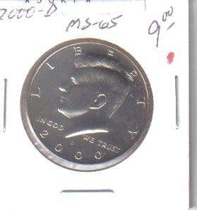 2000 D  KENNEDY HALF DOLLAR