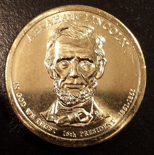 2010-P Abraham Lincoln Presidential Dollar (6137)