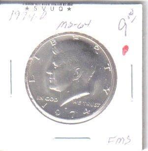1974 D  KENNEDY HALF DOLLAR