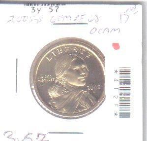 2005 S  SACAGAWEA GOLDEN DOLLAR