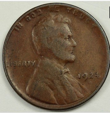 1924 D Wheat penny