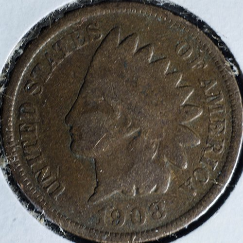 1908 P Indian Head Cent