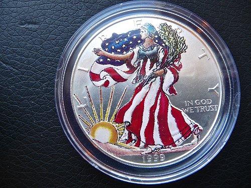 1999 Silver Eagle