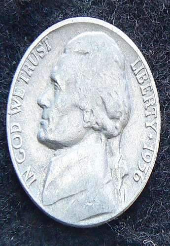 1956 P Jefferson Nickel (VG-8)