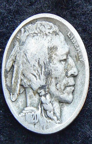 1920 P Buffalo Nickel (VG-8)