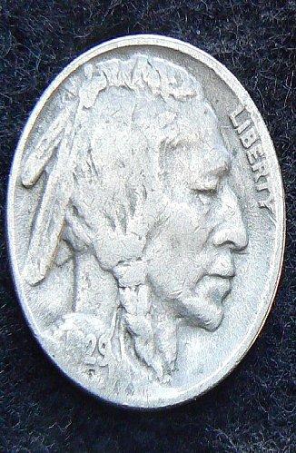 1929 S Buffalo Nickel (VG-8)