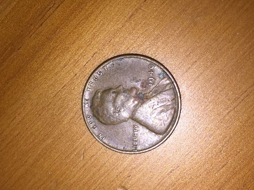 1940 P Lincoln Wheat Cent Small Cents