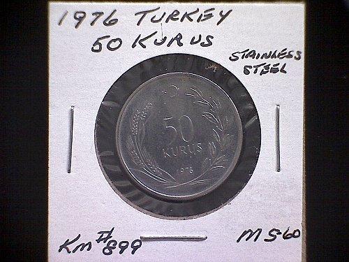 1976 TURKEY FIFTY KURUS