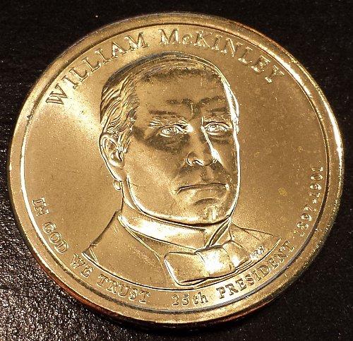 2013-D William McKinley Presidential Dollar (6149)