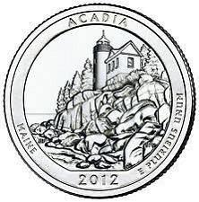 2012 S  ACADIA NATL PARK QUARTER