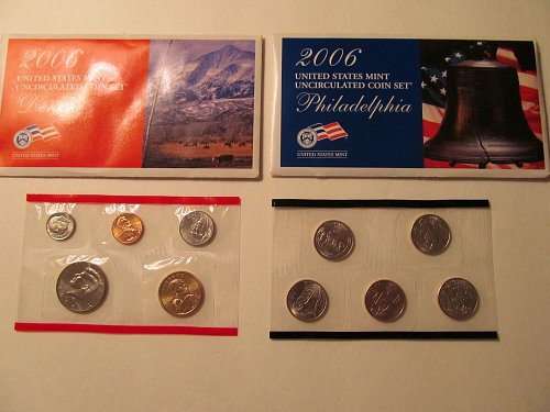 2006 US Mint Uncirculated coin set