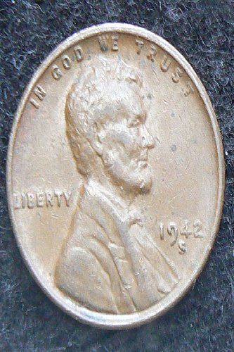 1942 S Lincoln Wheat Cent (VF-20)