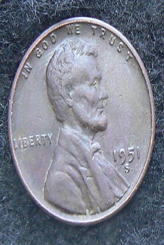 1951 S Lincoln Wheat Cent (EF-40)