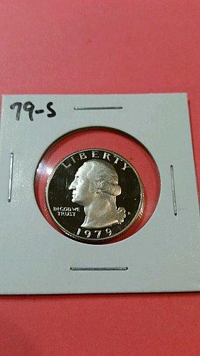 2-proof quarters 1973s & 1979s type 1