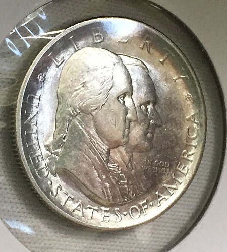 1926 Sesquicentennial of American Independence Silver Half Dollar