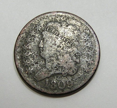 1809 Classic Head Half Cent - Good