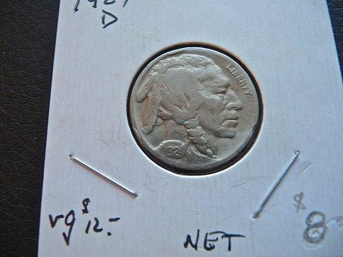 1924-D Buffalo Nickel