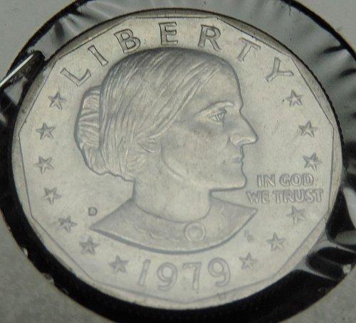 1979 D Susan B. Anthony Dollar Narrow Rim loose from Proof set