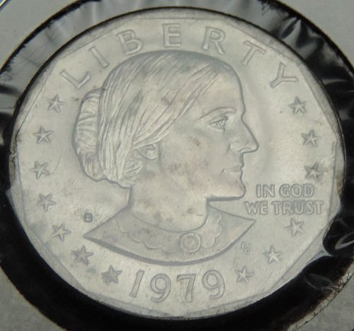 1979 S Susan B. Anthony Dollar Narrow Rim loose from Proof set