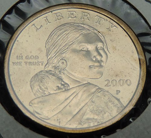 2000 P Sacagawea Dollar Eagle Reverse Great Condition