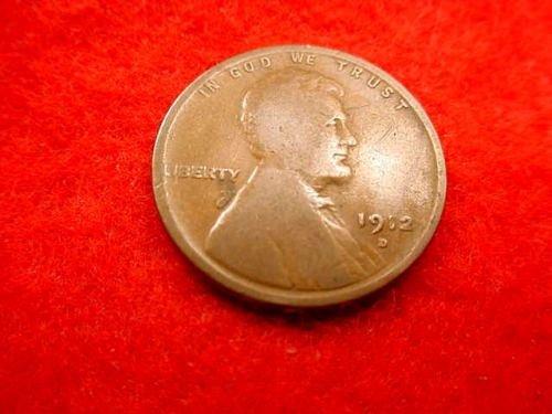 1912d penny