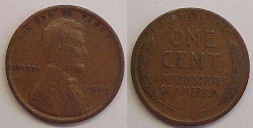 1909 penny real nice