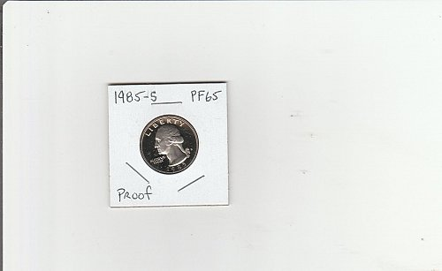 1985 s proof quarter