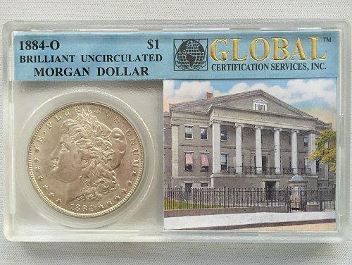 1884 O Morgan Dollar - BU/MS-63