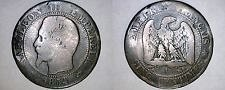 1854 cino centimes france