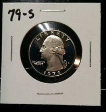 1979s filled S quarter proof