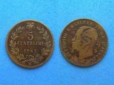 1861  M  5 centesimi italy