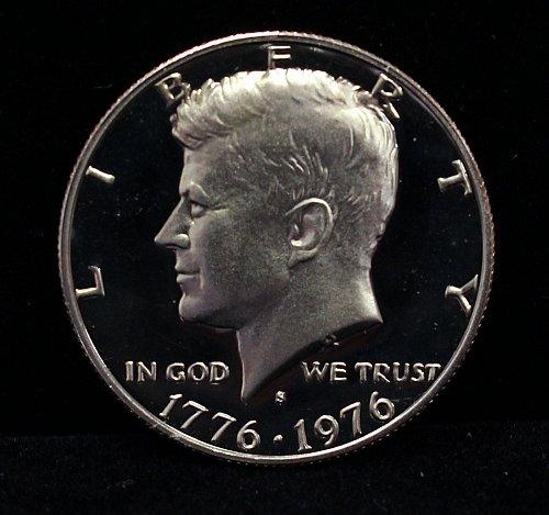 1976 S proof half dollar