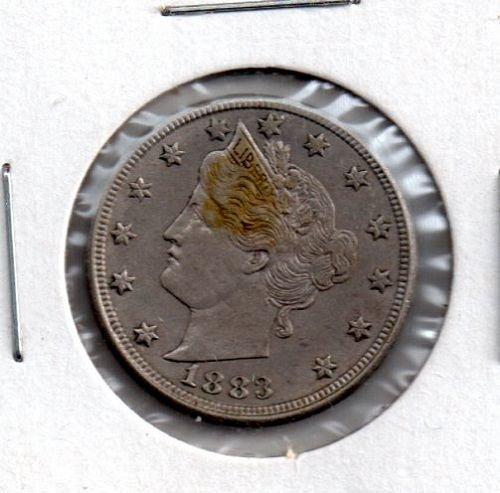 1883 P Liberty Head - without CENTS