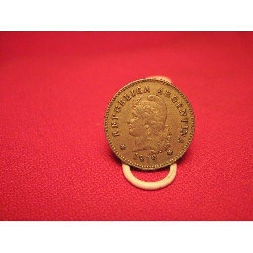 1919 argentina 10 centavos
