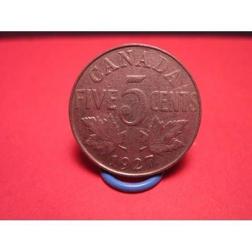 3-canada older nickels 1927,1928,1929